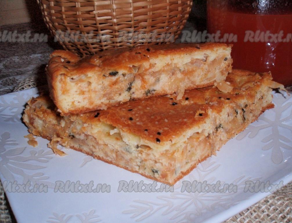 Пирог с тушенкой рецепт 134
