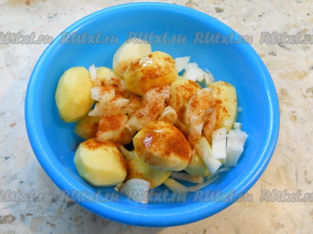 ребра в духовке с картошкой фото