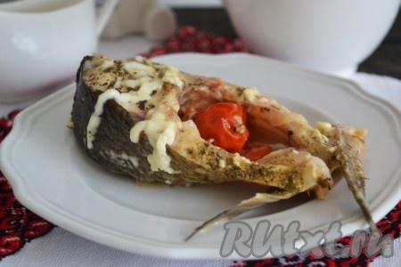 рыба толстолобик в духовке калорийность