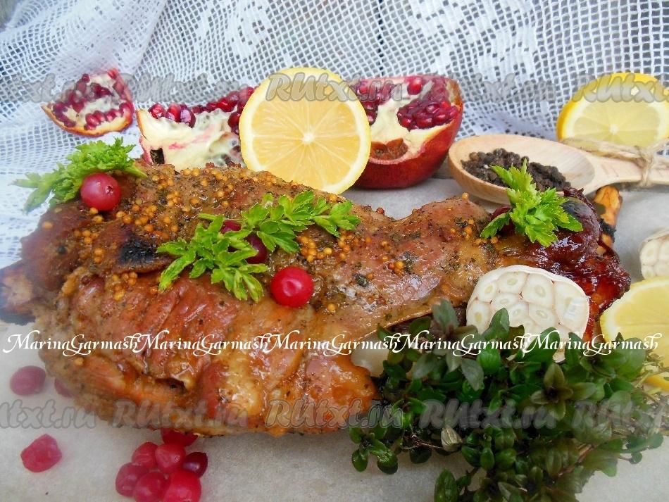 рецепт рыбы запеченной в духовке рукаве