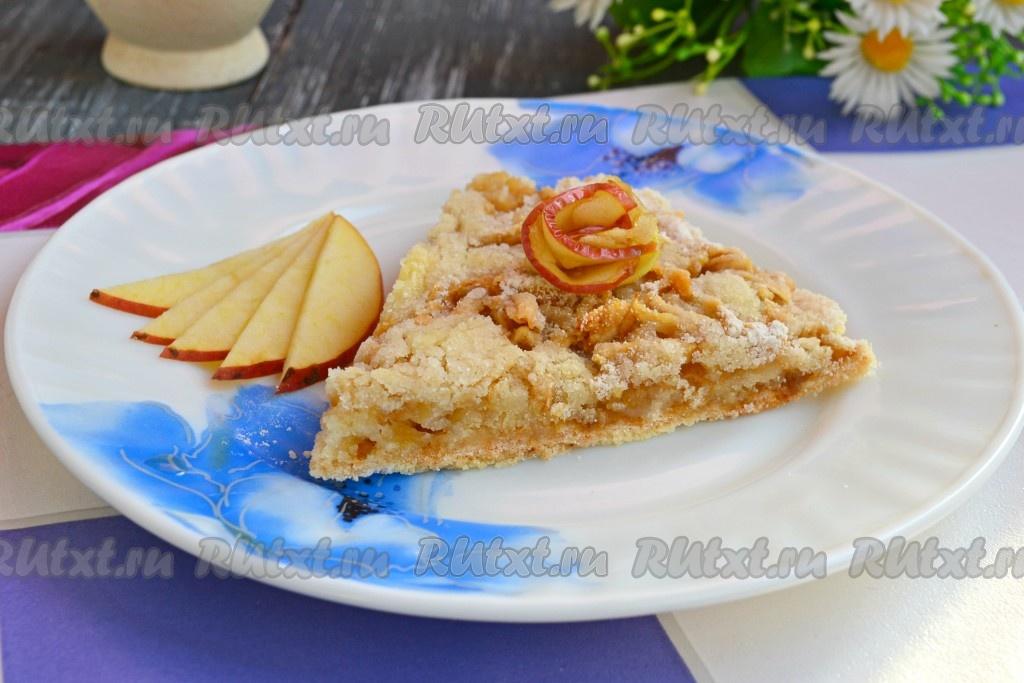 рецепт теста для яблочного пирога в духовке