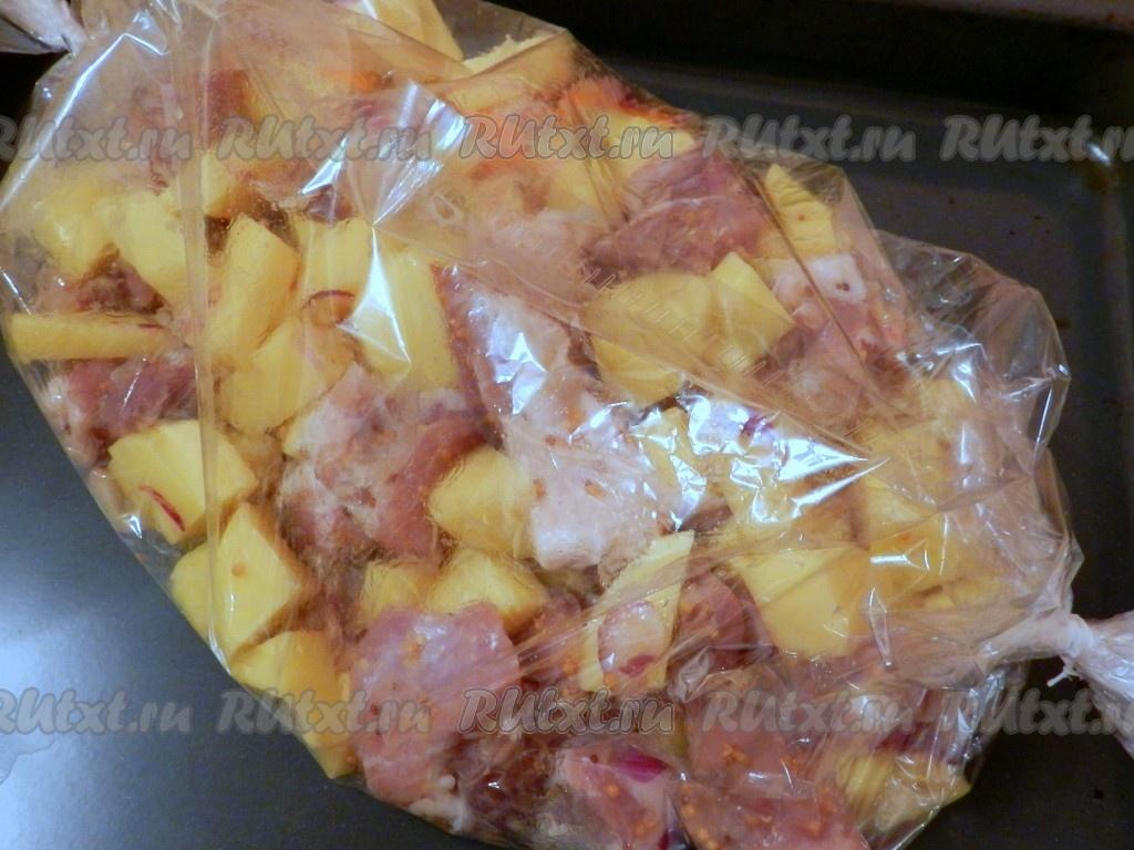 Свинина на сковороде с картошкой рецепты