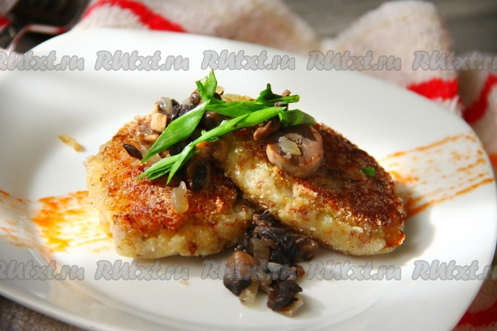 рецепт котлет из гречки и картофеля фото