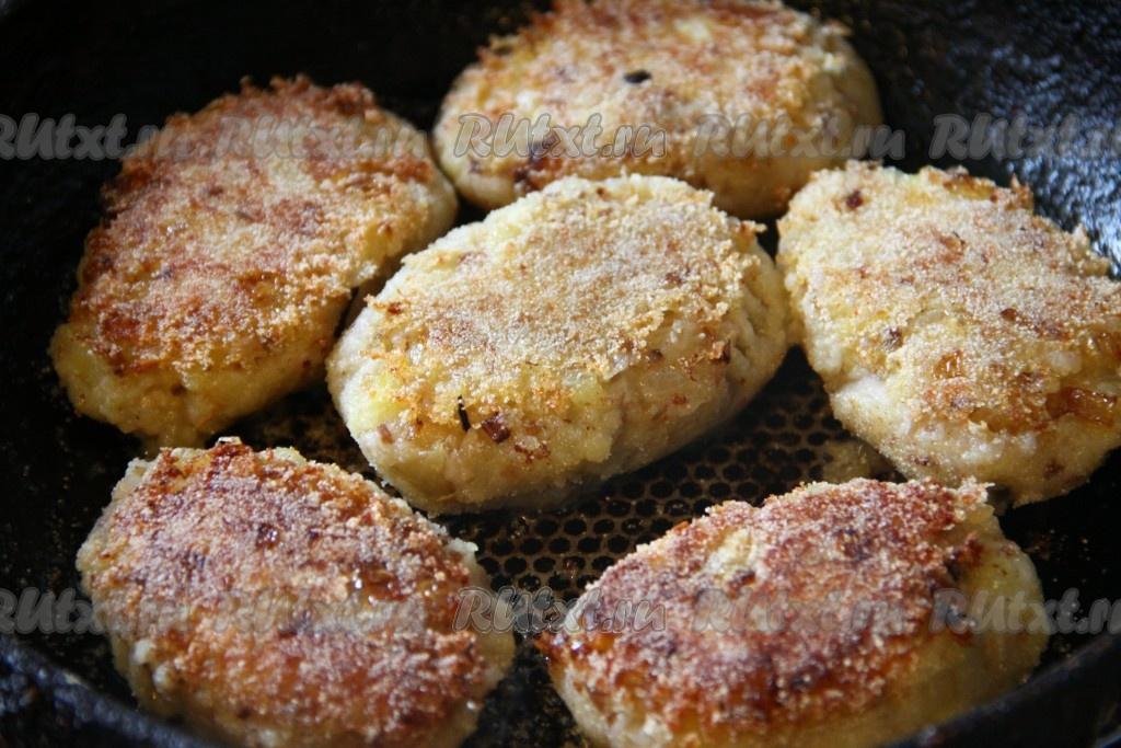 котлеты из картофеля и грибов рецепт