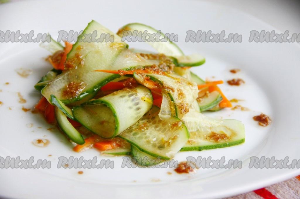 как приготовить заправку для салата из соевого соуса