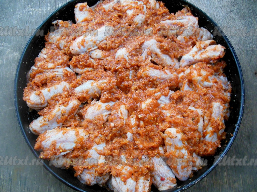 Рецепт вкусных крылышек на мангале