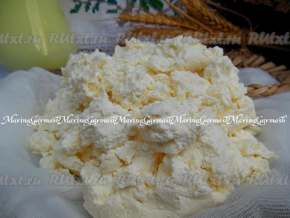Как сделать творог из свежего молока домашних условиях