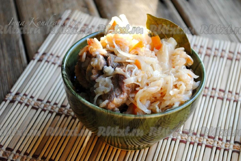 Рецепты солянки из капусты с рисом