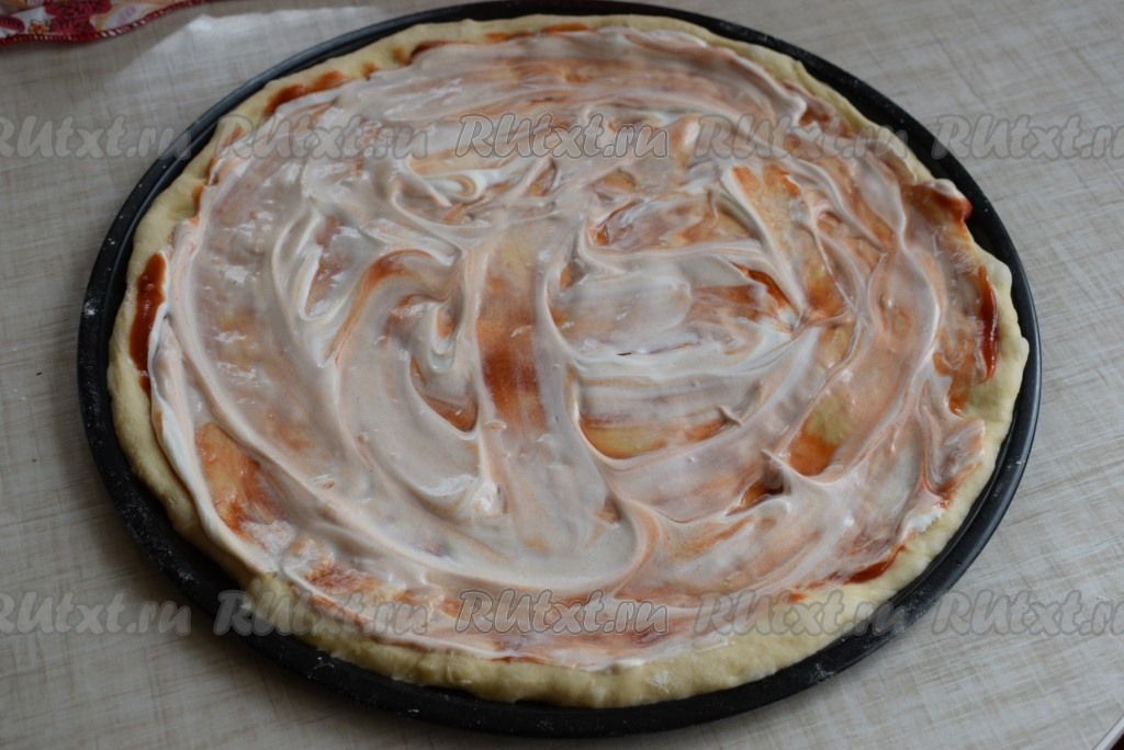 Рецепт пиццы на сухих дрожжах