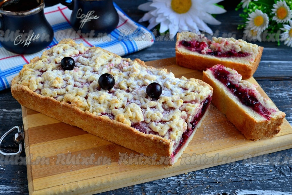 Закрытый пирог я ягодами рецепт 129