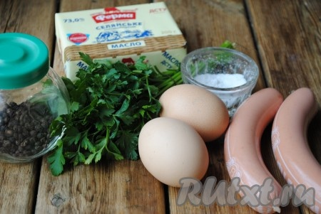 Подготовить необходимые ингредиенты для приготовления яичницы в микроволновке