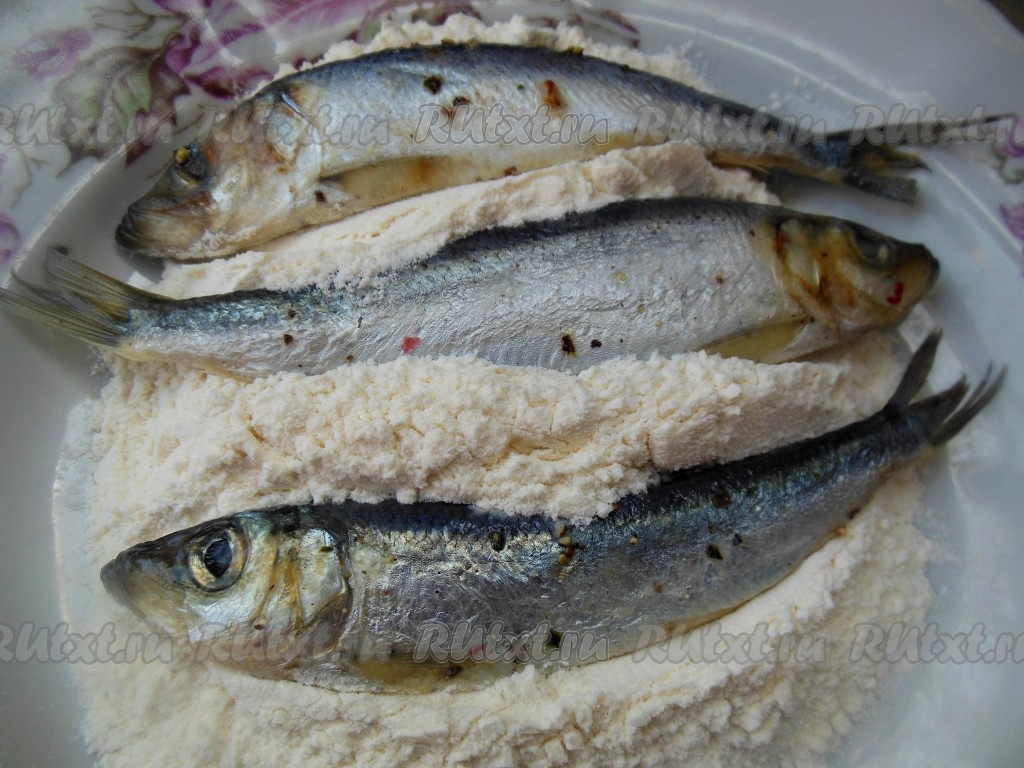Жареная рыба рецепт с фото пошагово