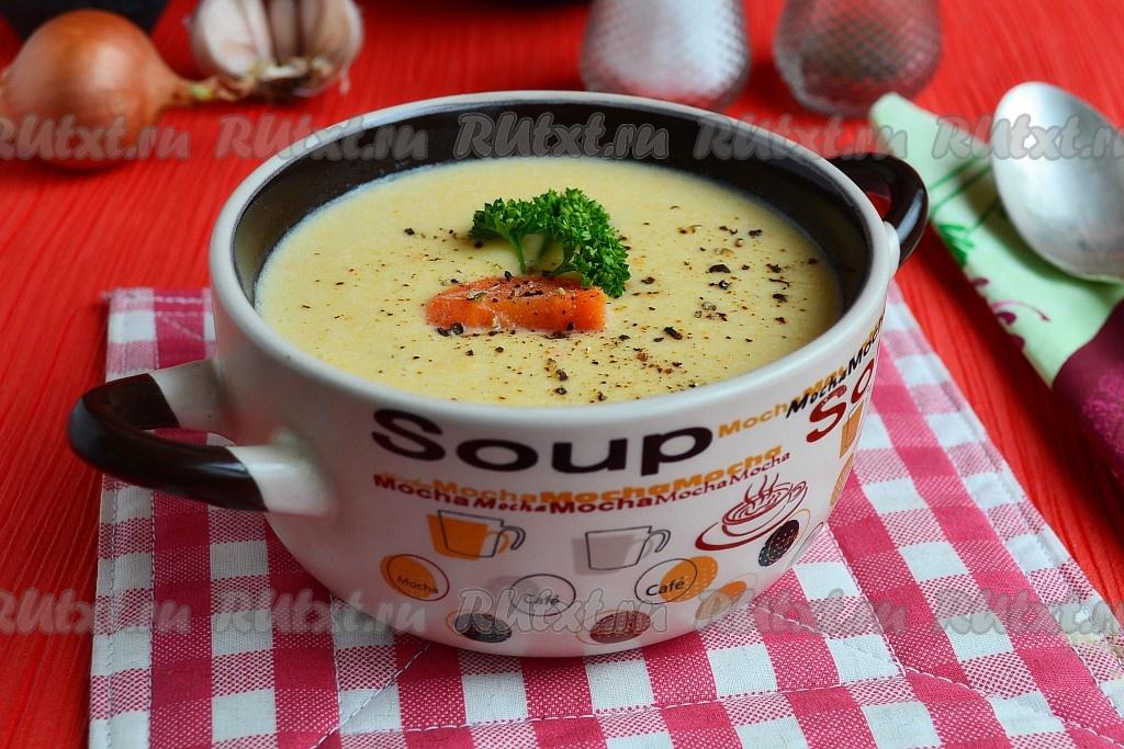 сливочный суп пюре с курицей рецепт