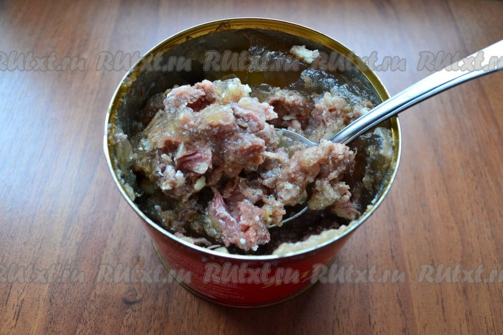 Вкусный суп из тушенки рецепт с фото