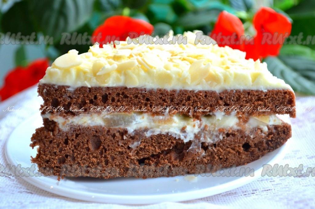 Рецепты тортов сфруктами