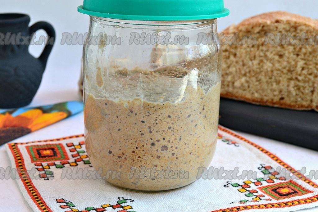 Как сделать закваску для домашнего белого хлеба