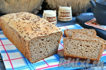 Карельский хлеб ( на закваске) : Хлеб, батоны, багеты, чиабатта