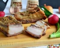 Сало в духовке в фольге пошаговый рецепт с фото