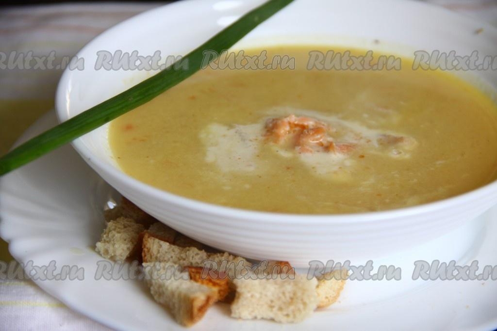 суп из семги рецепт без лука