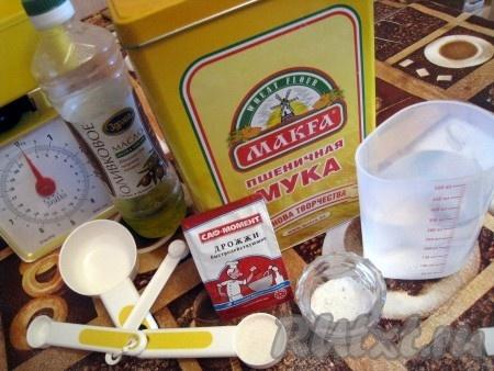 приготовление дрожжевого теста в хлебопечке рецепт
