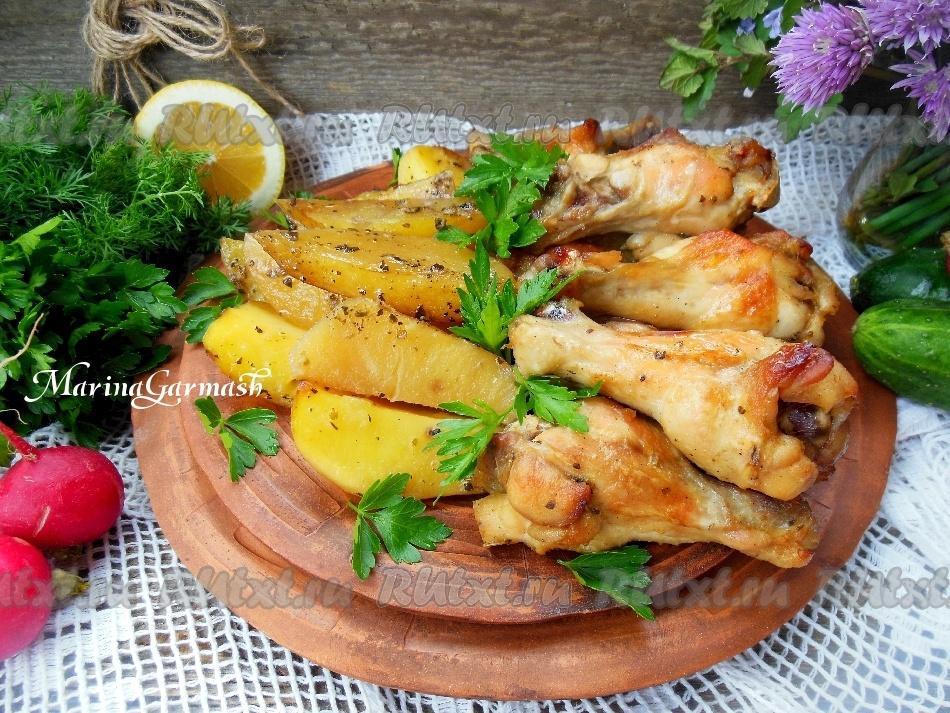 Куриные крылья с лимоном и чесноком: простой рецепт изоражения