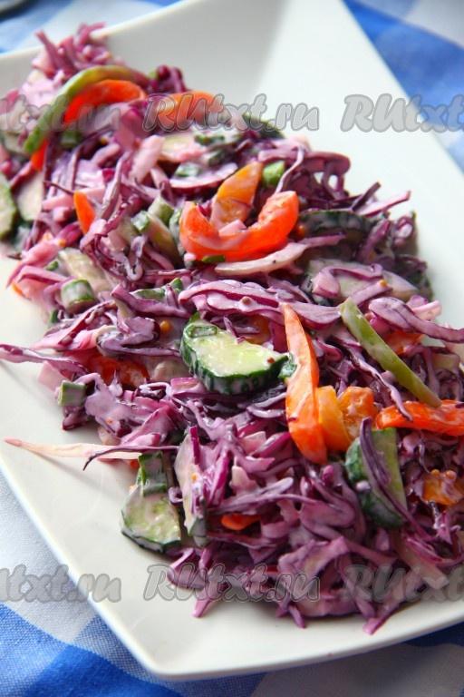 как приготовить из капусты красной корейский салат
