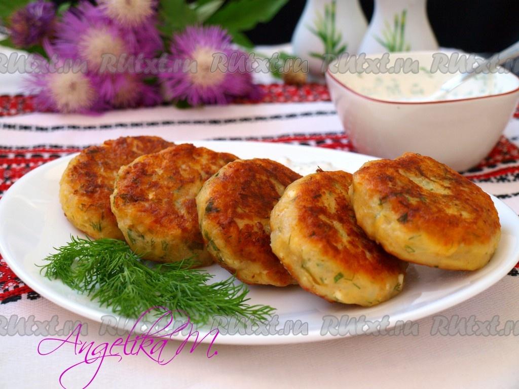 Картофельные оладьи фото