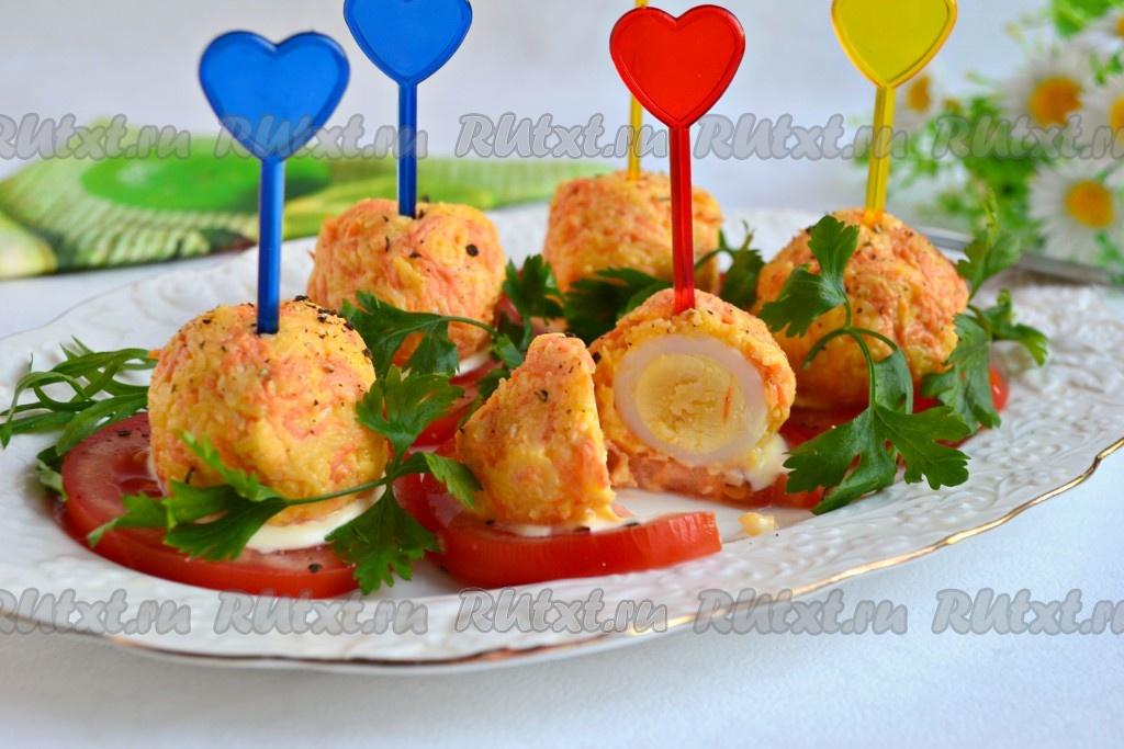 Закуска из перепелиных яиц - 8 пошаговых фото в рецепте