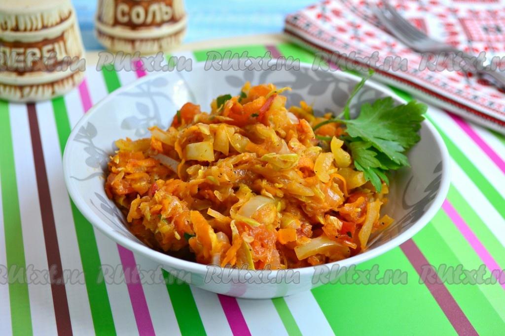 кабачковая икра на сковороде рецепт с фото