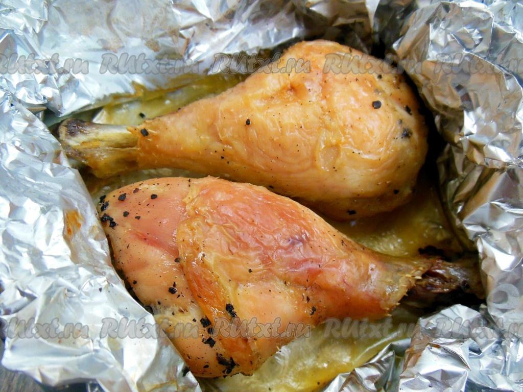 Куриные ножки с приправой в духовке