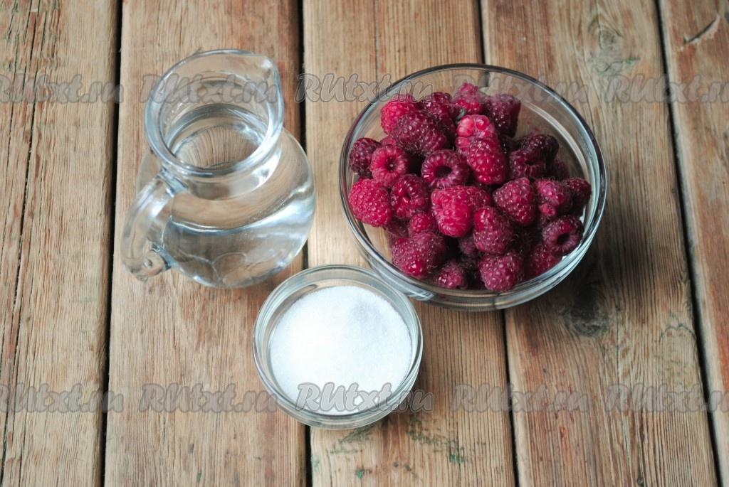 Как сделать компот из малины на зиму
