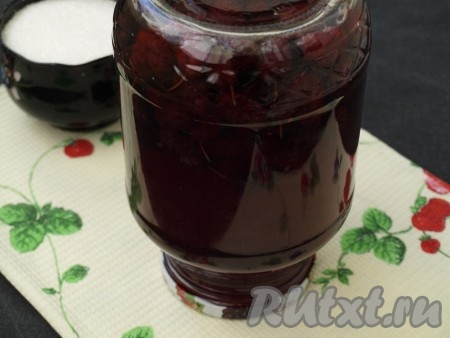 Компот из шелковицы на зиму рецепт