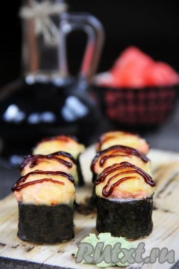 Суши и роллы 20 рецептов с фотографиями 12