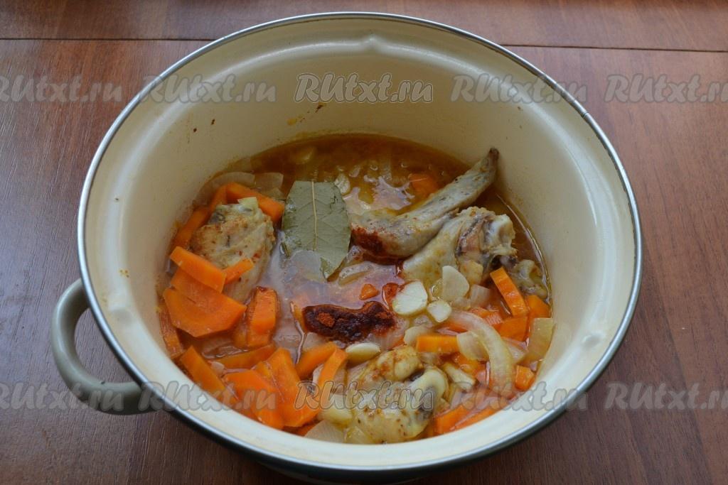Капуста тушеная с луком и морковью рецепт 50
