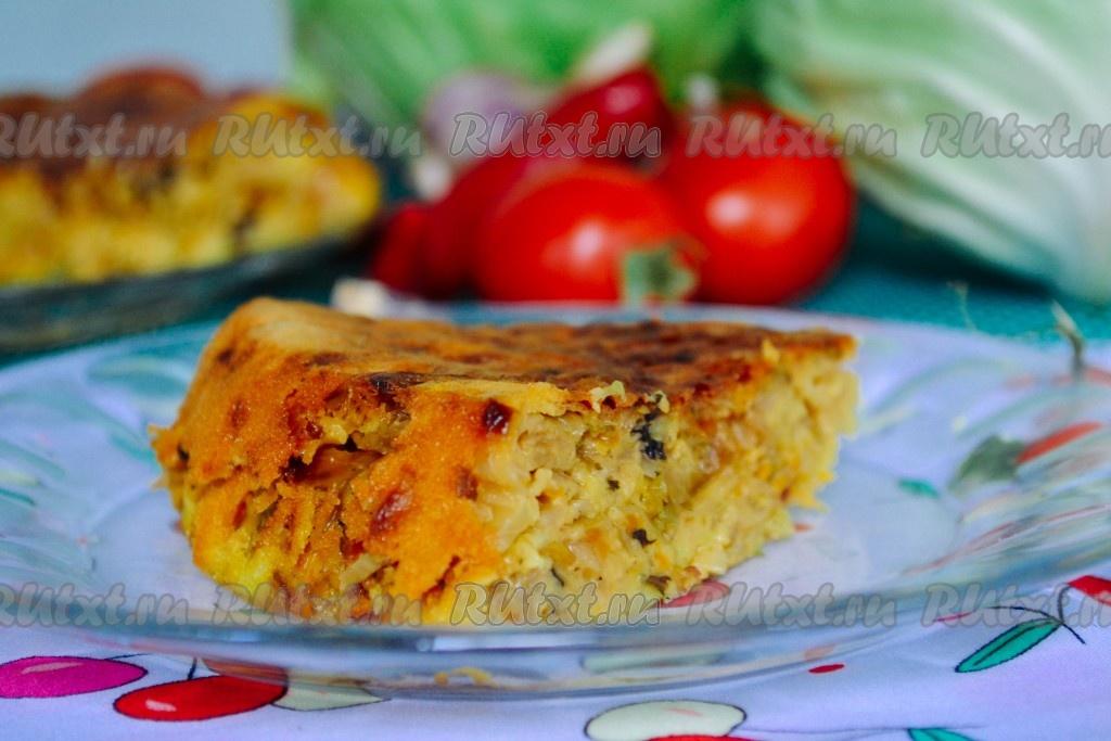 Пироги с капустой, рецепты с фото от наших кулинаров новые фото