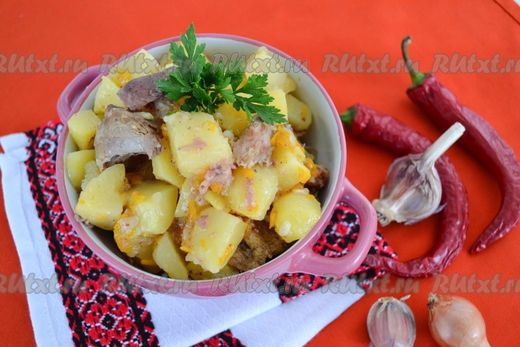 Картофель с тушенкой рецепт