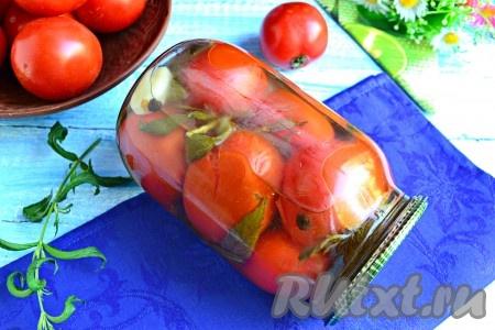 помидоры с мятой рецепт