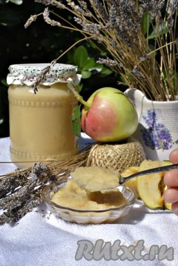 Пюре из яблок неженка в домашних условиях