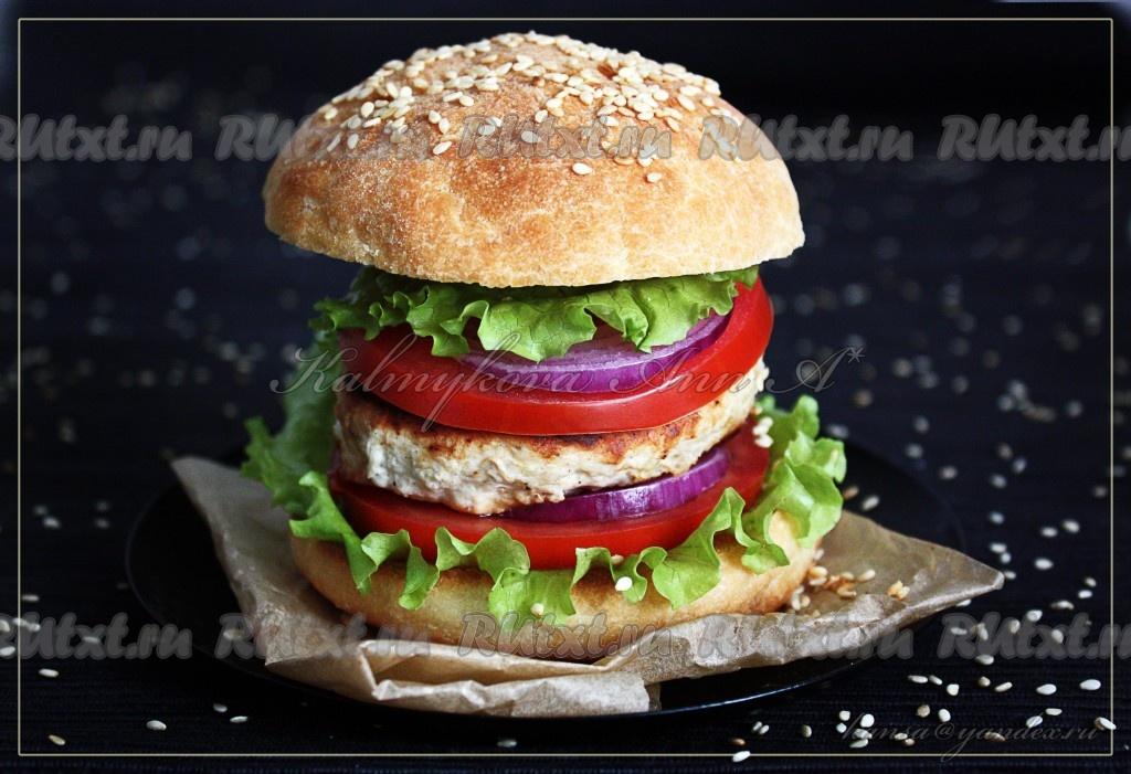 Как сделать свой гамбургер 762