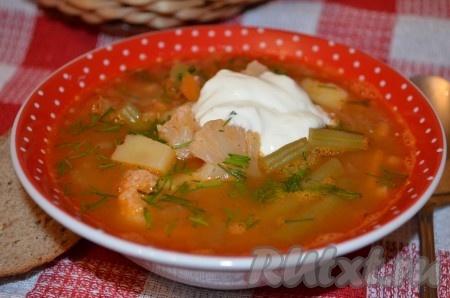 Овощной крем суп рецепт простой из картошки и моркови
