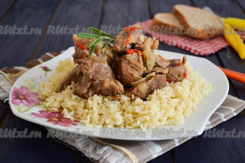 мясо козы как приготовить в мультиварке
