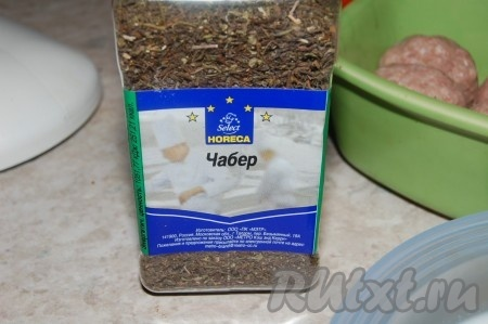 Тефтели из фарша с рисом рецепт с фото в духовке со сметаной