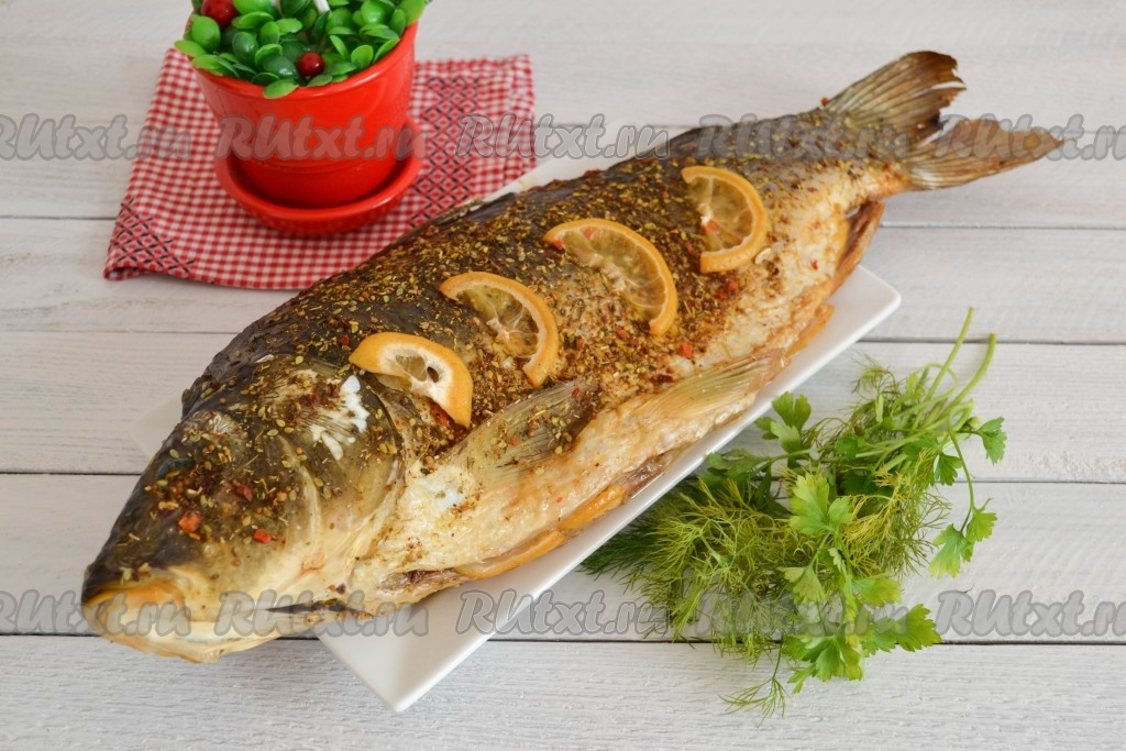 рыба в духовке минут