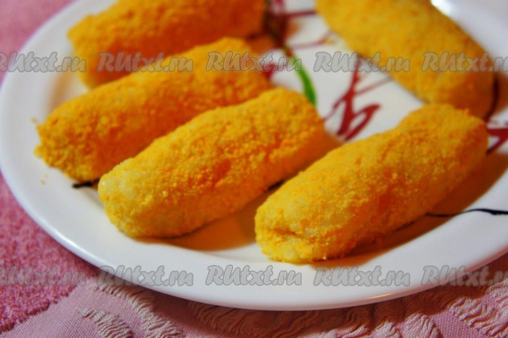 картофельные палочки с сыром рецепт с фото пошагово