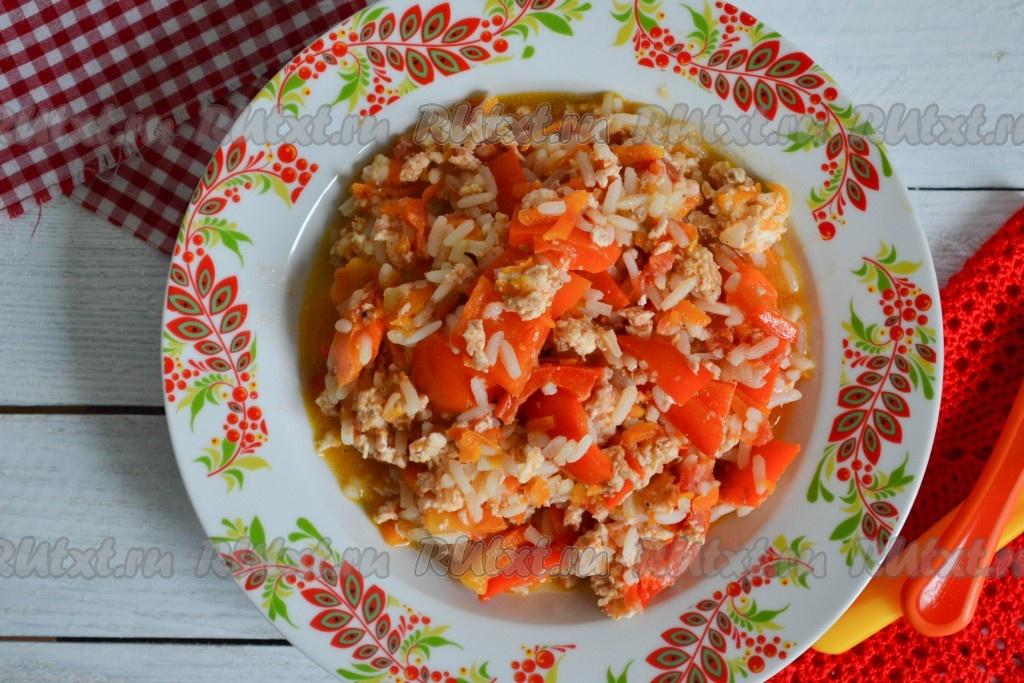 фарш с рисом рецепты