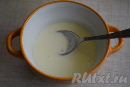 Суп с галушками с мясом
