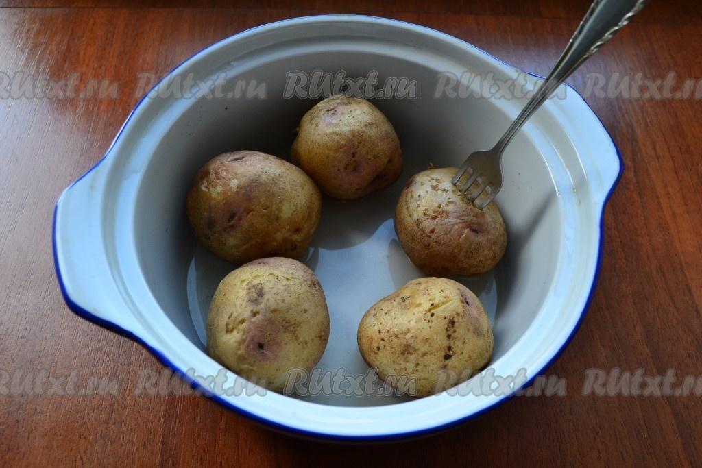 Как сделать картошку в микроволновке в домашних условиях 153