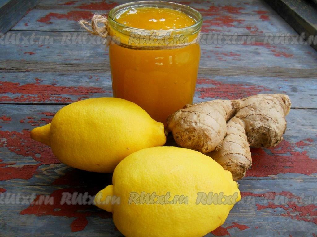 как пить имбирь с лимоном чтобы похудеть