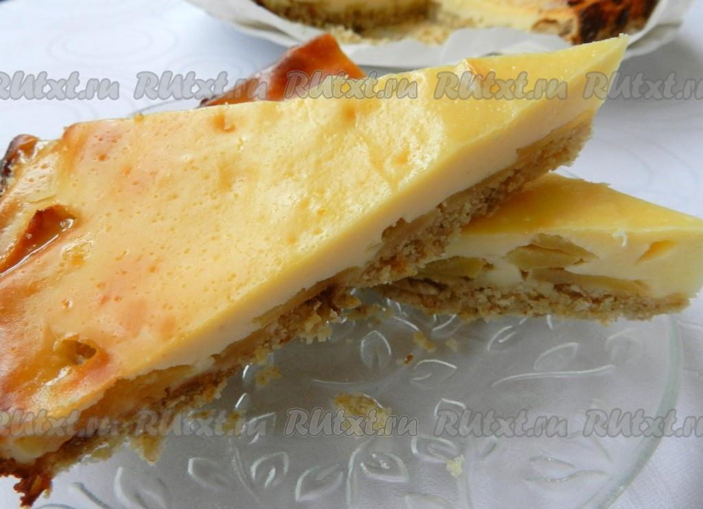 Пирог из овсяных