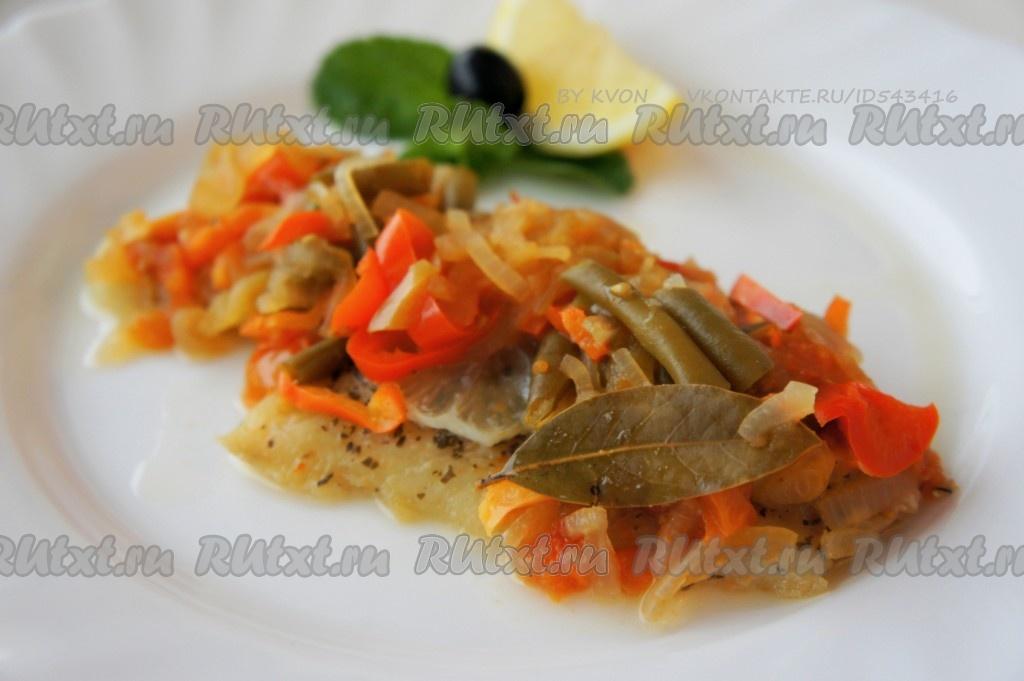 рецепты из филе минтая в духовке с картошкой